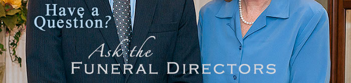 Ask The Funeral Directors